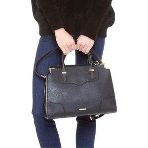 Rebecca Minkoff Amorous Black Satchel Handbag